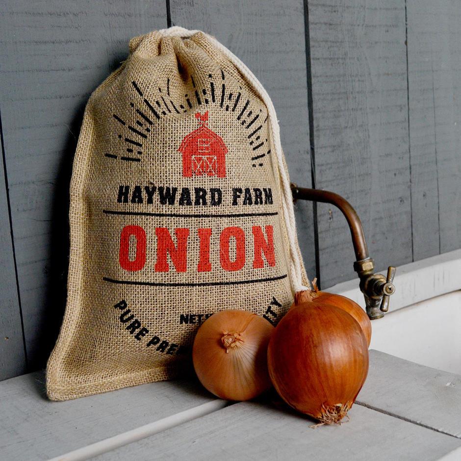 Jute Onion Storage Bag
