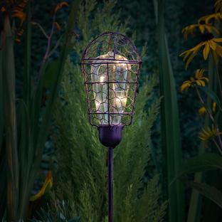 Solar Vintage Style Edison Stake Light
