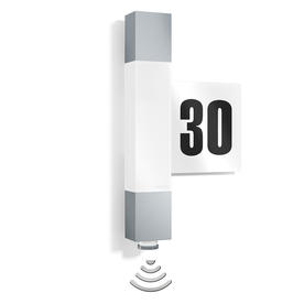 Motion Sensor LED Lights with House Numbers
