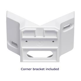 Double Motion Sensors including corner bracket