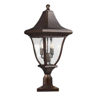 Oakmont Pedestal Lantern