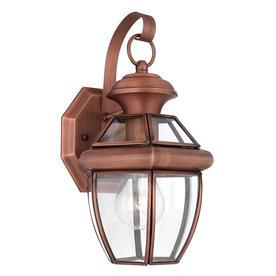 Newbury Copper Wall Lanterns
