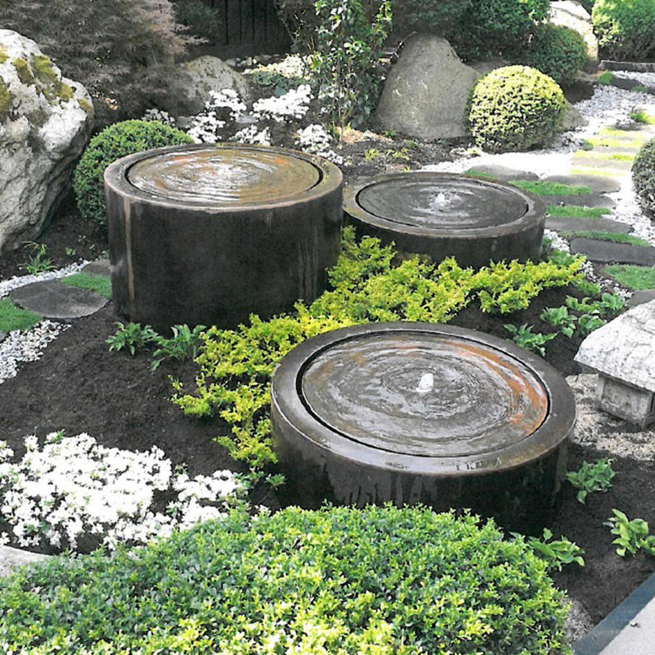 Aluminium Round Water Pool with Fountain