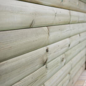 Timber Roofed Hexagonal 3m Gazebo
