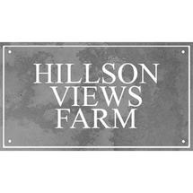 Smooth Black Slate Three Line House Sign with Border - Size 3