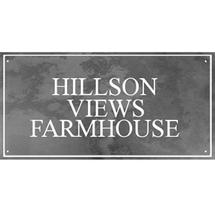 Smooth Black Slate Three Line House Sign with Border - Size 6