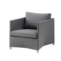 Diamond Lounge Chair - Grey