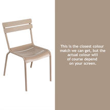 Luxembourg Stacking Chair - Nutmeg