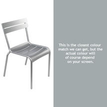 Luxembourg Stacking Chair - Steel Grey