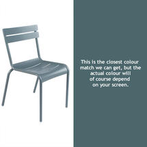 Luxembourg Stacking Chair - Storm Grey