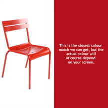 Luxembourg Stacking Chair - Poppy