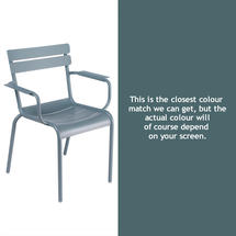 Luxembourg Stacking Armchair - Storm Grey
