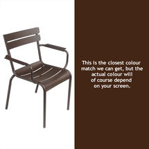 Luxembourg Stacking Armchair - Russet