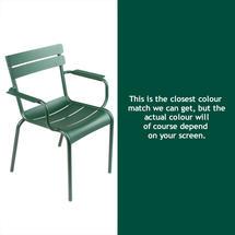 Luxembourg Stacking Armchair - Cedar Green