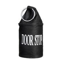 Canvas Doorstop - Black
