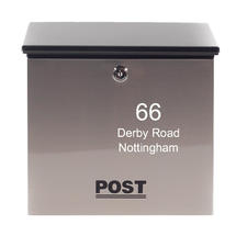 Personalised Rio Letterbox