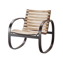 Parc Rocking Chair - Teak / Lava Grey