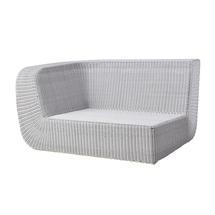 Savannah Lounge Right Module - White Grey