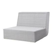 Savannah Lounge Single Module - White Grey
