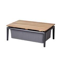 Conic Box Table - 74x52cm - Grey