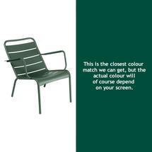 Luxembourg Low Armchair - Cedar Green