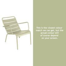Luxembourg Low Armchair - Willow Green