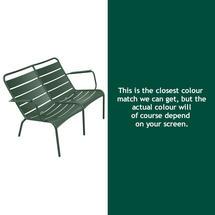 Luxembourg Low Armchair Duo - Cedar Green