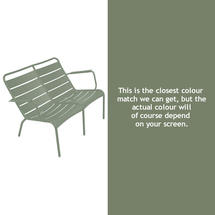 Luxembourg Low Armchair Duo - Cactus