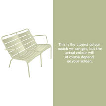 Luxembourg Low Armchair Duo - Willow Green