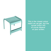 Luxembourg Low Table Small - Lagoon Blue