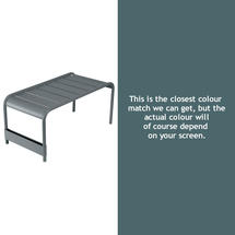 Luxembourg Low Table Large - Storm Grey