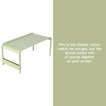 Luxembourg Low Table Large - Willow Green