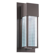 Sorel Outdoor LED Wall Light Architectural Bronze