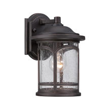 Marblehead Small Wall Lantern - Bronze