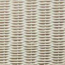 Dovile 3 Seater Sofa - Broken White