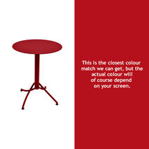 Ariane Round Table - 60cm - Poppy