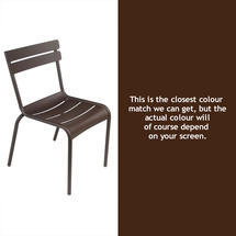 Steel Luxembourg Chair - Russet