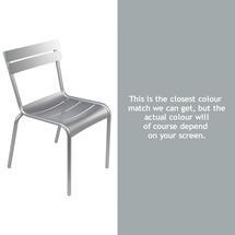 Steel Luxembourg Chair - Steel Grey