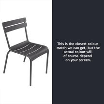 Steel Luxembourg Chair - Anthracite