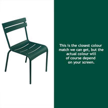Steel Luxembourg Chair - Cedar Green