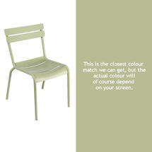 Steel Luxembourg Chair - Willow Green