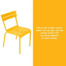 Steel Luxembourg Chair - Honey
