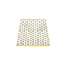 Noa - Warm Grey/Vanilla/Mustard Edge - 70 x 90