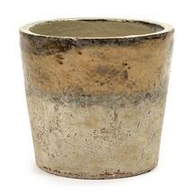 Conic Gold Glazed Pot - Large