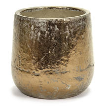 Divine Gold Glazed Pot - Large
