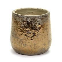 Divine Gold Glazed Pot - Medium