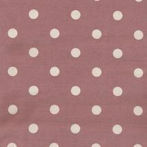 Oilcloth Fabric Big Dots - Rose