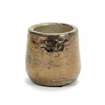 Divine Gold Glazed Pot - Small