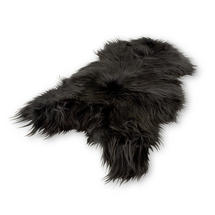 Longhair Sheepskin - Graphite