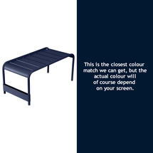 Luxembourg Low Table Large - Deep Blue